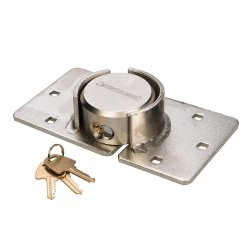 Heavy Duty Van Lock & Hasp 73mm