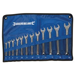 12Pce Combination Spanner Set 6 - 22mm