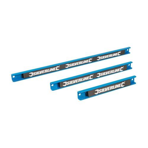 3Pce Magnetic Tool Rack Set 200, 300 & 460mm