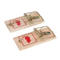 2Pce Classic Mouse Trap