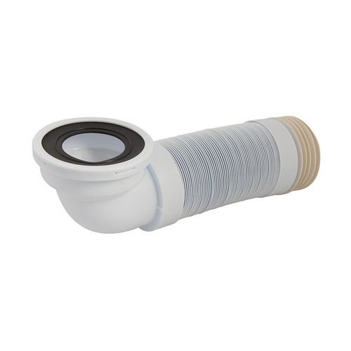 110mm Angled Flexible Pan Connector 90 Degree 320 - 750mm
