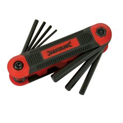 8Pce Hex Key Metric Expert Tool 1.5 - 8mm