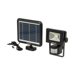 LED Solar-Powered PIR Floodlight