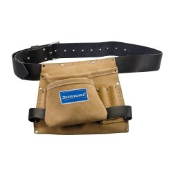 Leather Nail & Tool Bag 8 Pocket 260 x 230mm