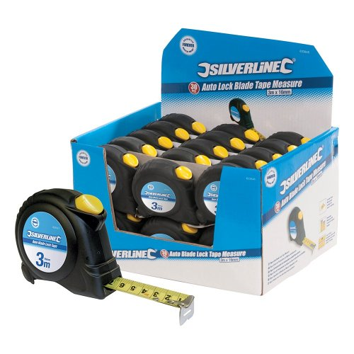 Auto  Blade  Lock  Measuring  Tapes  [Bulk  Packs]