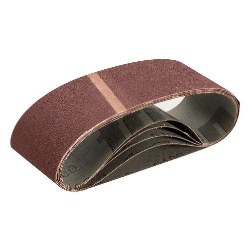 Sanding Belt 75 x 533mm 100 Grit [Pack of 5]