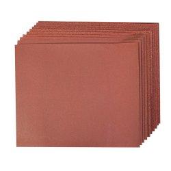 10Pce Aluminium Oxide Hand Sheets [4 x 60G, 2 x 80G, 120G, 240G]