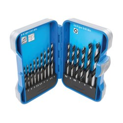 15Pce Lip & Spur Drill Bit Set 3 - 10mm