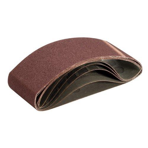 Sanding Belt 75 x 533mm 80 Grit [Pack of 5]