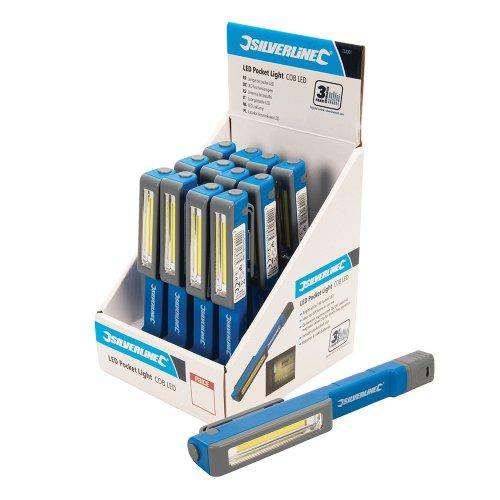 LED Pocket Light Display Box 12pce