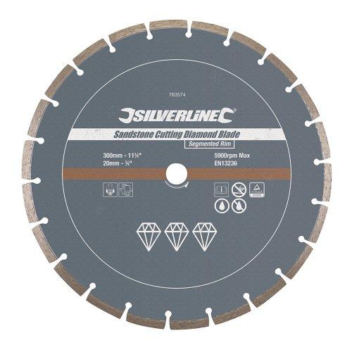 Sandstone Cutting Diamond Blade 300 x 20mm Segmented Rim