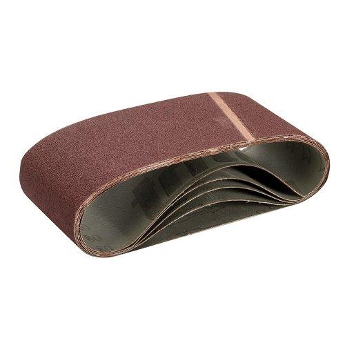 Sanding Belt 100 x 610mm 80 Grit [Pack of 5]