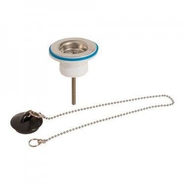 Strainer Waste with Plug & Chain 1.1/4in