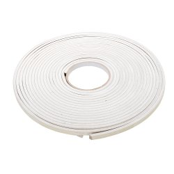 Self-Adhesive EVA Foam Gap Seal 3 - 8mm / 10.5m White