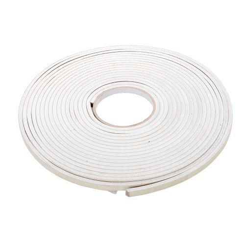 Self-Adhesive EVA Foam Gap Seal 3 - 8mm / 10.5m White