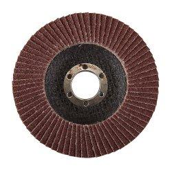 115mm Aluminium Oxide Flap Disc 60 Grit