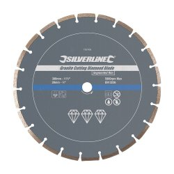 Granite Cutting Diamond Blade 300 x 20mm Segmented Rim
