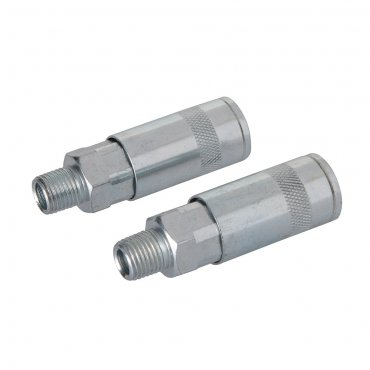 Air Line Quick Coupler 1/4in BSP [Pack of 2]