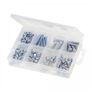 105Pce Machine Screws & Nuts Pack