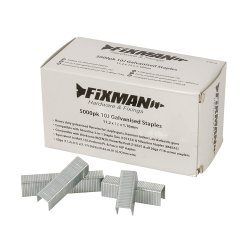 10J Galvanised Staples  11.2 x 12 x 1.17mm [Pack of 5000]