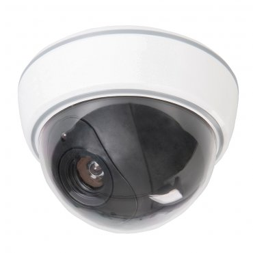 Dummy Security Dome Camera with LED 3 x AA