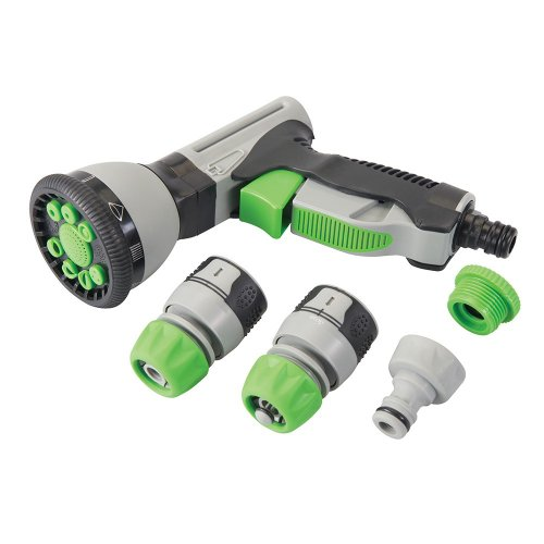 5Pce Soft-Grip Spray Gun Quick Connect Set