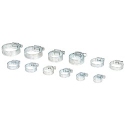 12Pce Hose Clips Pack