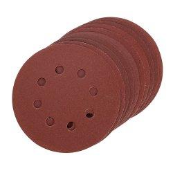 125mm Hook & Loop Sanding Disc 240 Grit [Pack of 10]