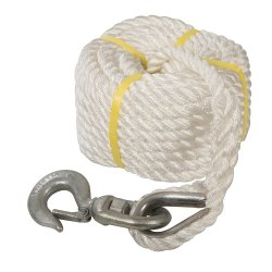 Gin Wheel Rope with Hook 20m x 18mm