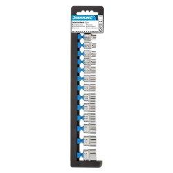 13Pce Socket Set 3/8in Drive 6pt Metric 6 - 21mm