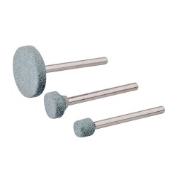 3Pce Rotary Tool Grinding Stone Set 5, 9, 20mm