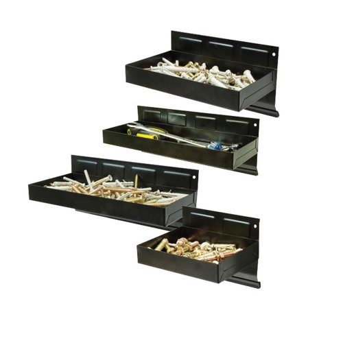 4Pce Magnetic Tool Tray Set 150 - 310mm