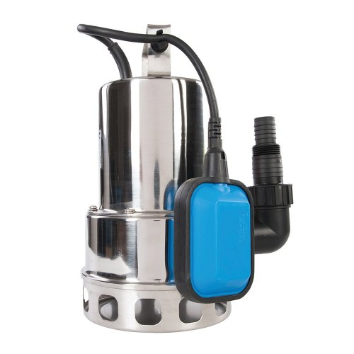 550W Dirty Water Pump Stainless Steel 10,500 Litre / hr