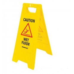 A Frame Caution Wet Floor Sign 295 x 610mm