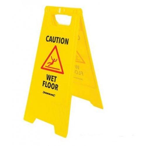 A Frame Caution Wet Floor Sign 295 x 610mm