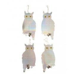 Bird Repellent Owls 4pk 200 x 410mm