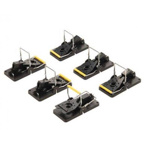 Mouse Traps Set 6pce 98 x 48mm