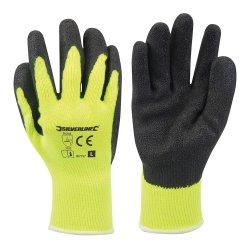 Hi-Vis Builders Gloves Yellow [Large]