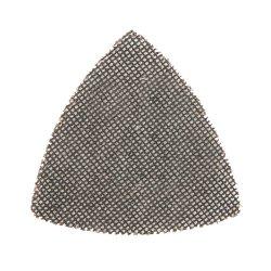 105mm Hook & Loop Mesh Triangle Sheets 120 Grit [Pack of 10]