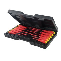 11Pce Insulated Soft-Grip Screwdriver Set