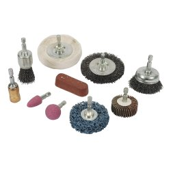 10Pce Cleaning & Polishing Kit 6mm
