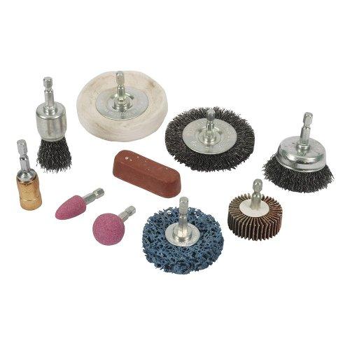 10Pce Cleaning & Polishing Kit 6mm