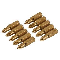 Gold  Screwdriver  Bits