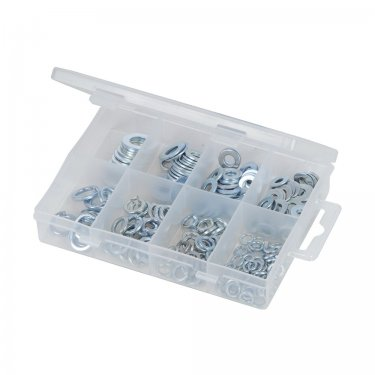 210Pce Steel Washers Pack