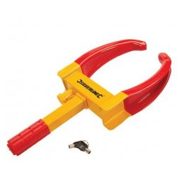 Adjustable Wheel Clamp with 2 Keys 175 - 225mm