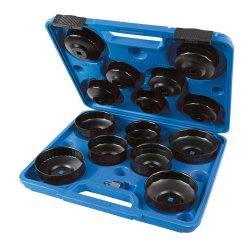 15Pce Oil Filter Wrench Set 65 - 93mm