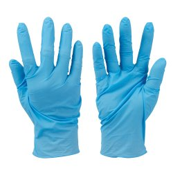 Disposable  Nitrile  Gloves  Powder-Free  -  Blue