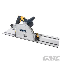GMC 1400W 165mm Plunge Tracksaw Kit