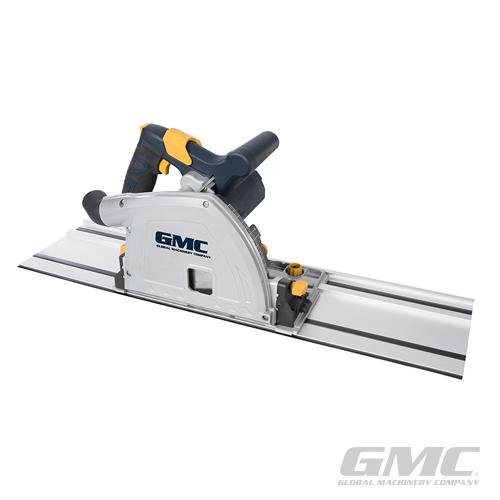 GMC 1400W 165mm Plunge Tracksaw Kit