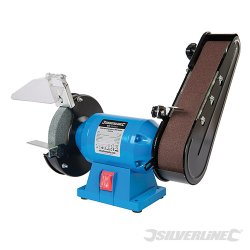 Bench Grinder With Belt Sander